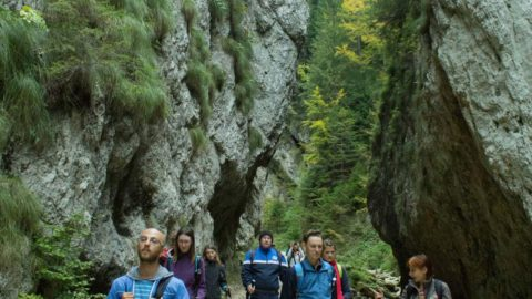 Drumetie montana in Piatra Craiului