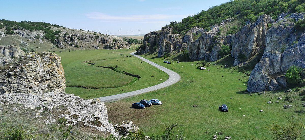 Relaxare in Cheile Dobrogei si plaja la Tuzla