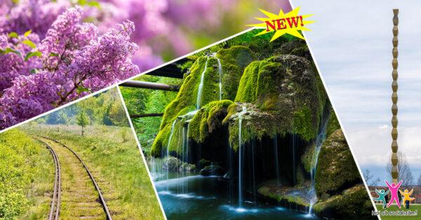 Padurea de liliac, trenul Oravita-Anina si Morile de la Rudaria
